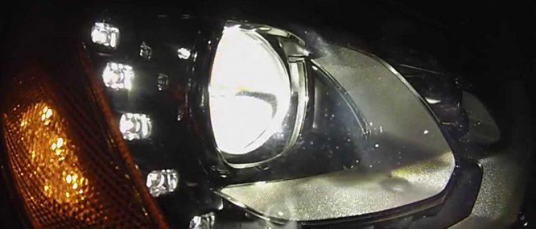 Адаптивная система переднего освещения Мазда СХ-5