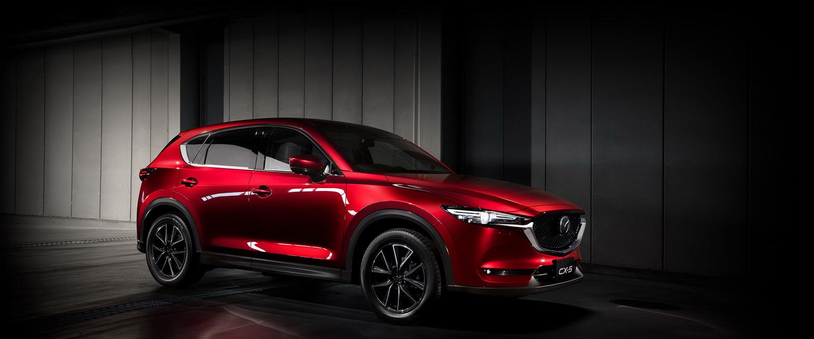 Цвета кузова Мазда СХ-5 - вся цветовая гамма Mazda CX-5