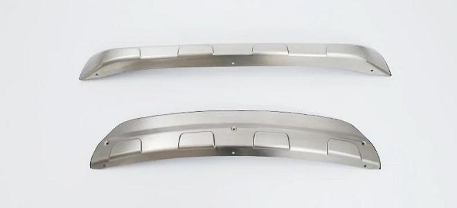 Накладки на бампер Мазда сх-5